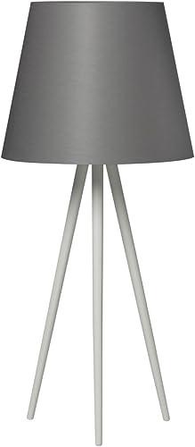Bauhaus – Lámpara de mesa (en blanco, altura 75 cm, embudo de ...
