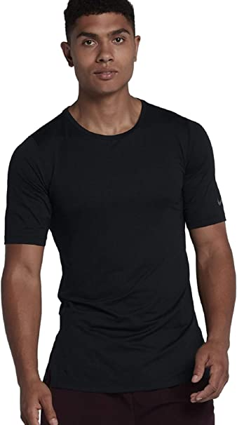 Nike Top Manches Courtes Fitted Utility T Shirt XXL Noir