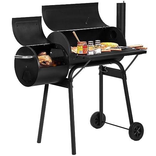Gyh-BBQ Barbacoa Barbacoa de carbón Parrilla Fumador Parrilla ...
