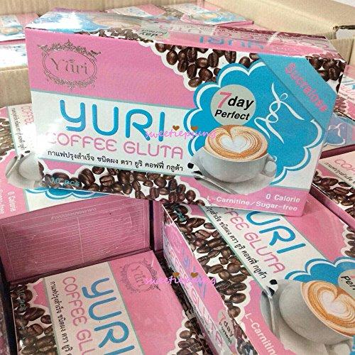 Yuri Coffee Gluta Dietary Diet Weight Loss Whitening Skin