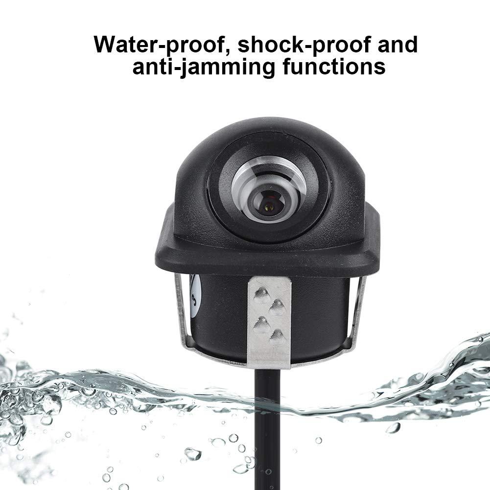Car Rear View Reverse//Reversing Parking Backup Camera HD 170/° Viewing Angle Waterproof Car Backup//Front//Side View Backup Camera