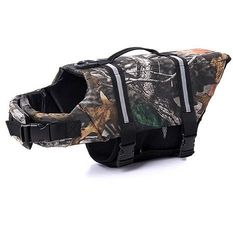 Venus Wolf® Perro Chaleco salvavidas flotador para perros de perros Chaleco salvavidas rettungsgeschirr Float Coat
