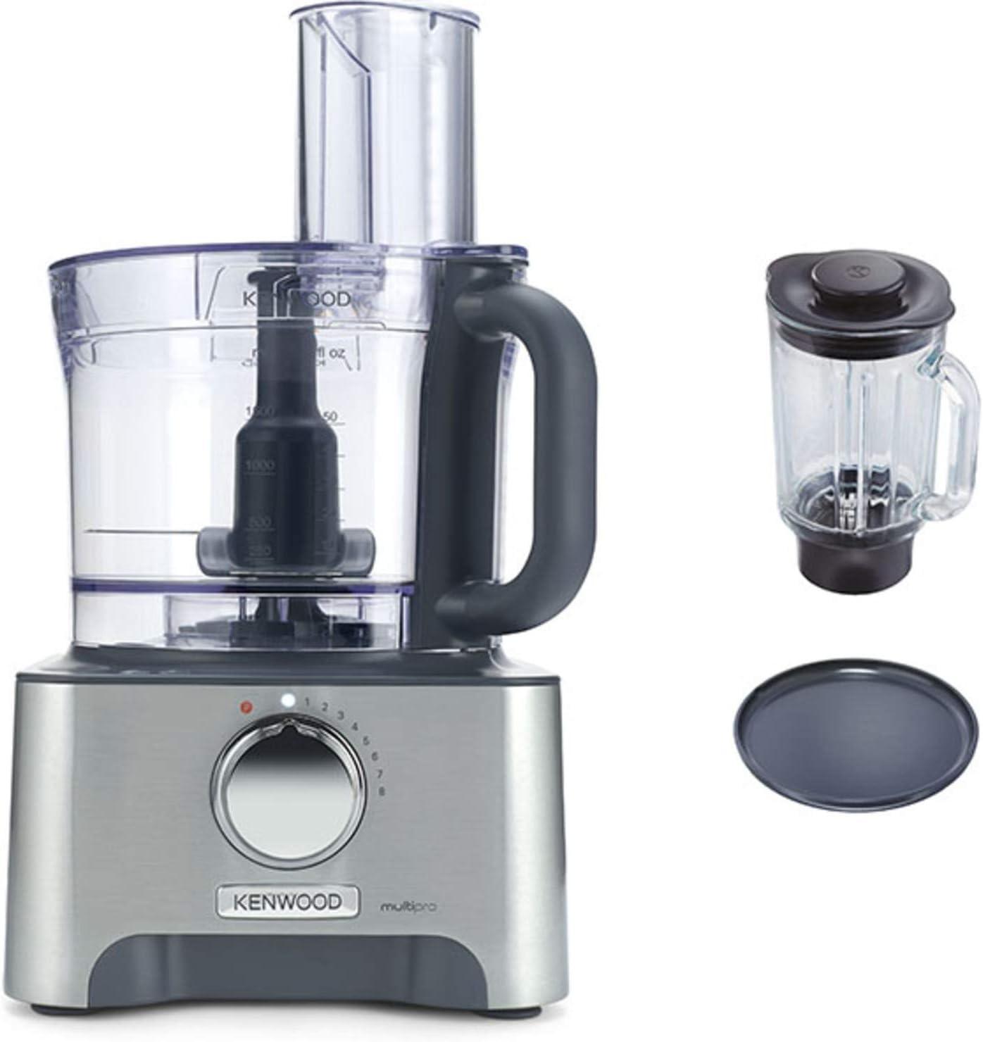 Kenwood FDM790BA Robot de cocina, 1000 W, plástico, aluminio, 8 velocidades, color plata: Amazon.es: Hogar