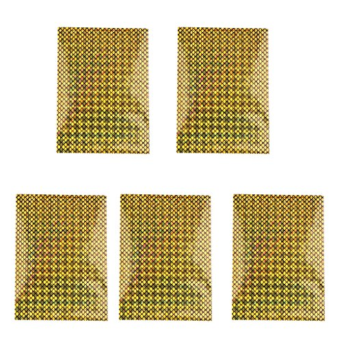 5 Pieces Fishing Lure Sticker Reflective Tape and Waterproof Tool
