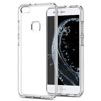 wholesale dealer 82810 8b09b Spigen [Liquid Crystal] [Crystal Clear] Case for P10 Lite, Flexible  Transparent TPU Shockproof Slim Phone Cover for Huawei P10 Lite Case -  L14CS21509