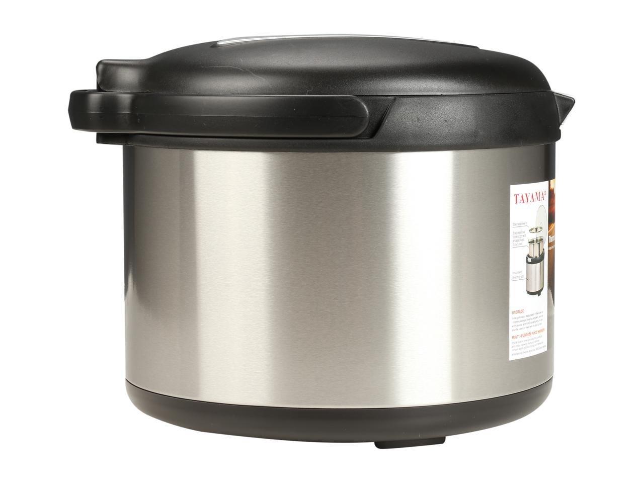 Tayama TXM-50CF Energy-Saving Thermal Cooker, 5 L, Black by TAYAMA (Image #4)