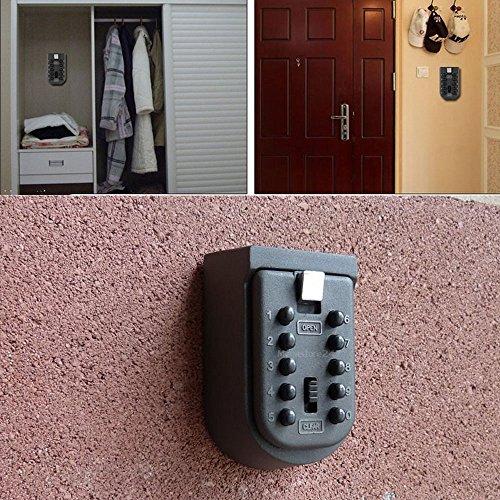 Key Safe Lock Box Outdoor Storage Box With Code