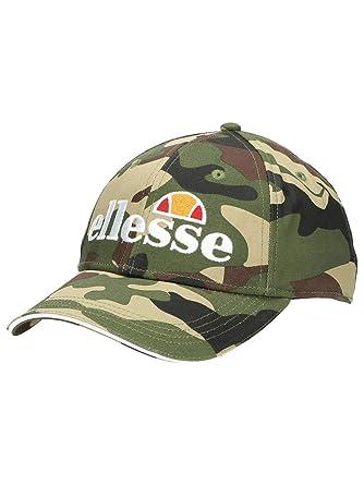 f9dc6cc615 ellesse Heritage Ragusa Mens Retro Fashion Baseball Cap Hat - Camo ...