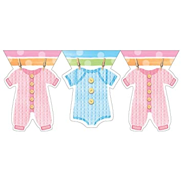 Good Baby Shower Flag Banner   Baby Clothes