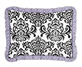 Sweet Jojo Designs Standard Pillow Sham for Girls Sloane Bedding Sets
