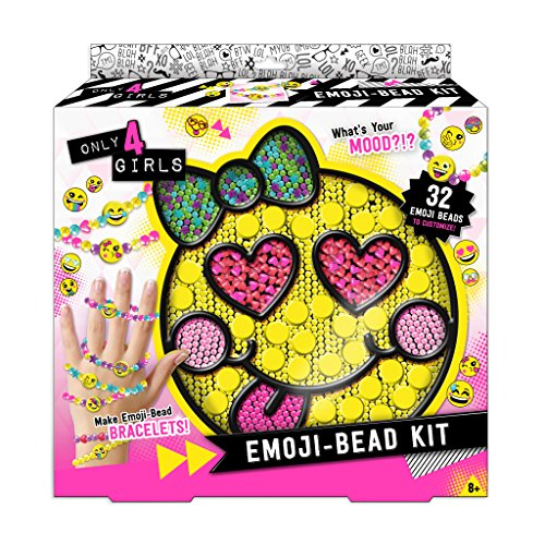 Only 4 Girls Emoji Bead Kit -