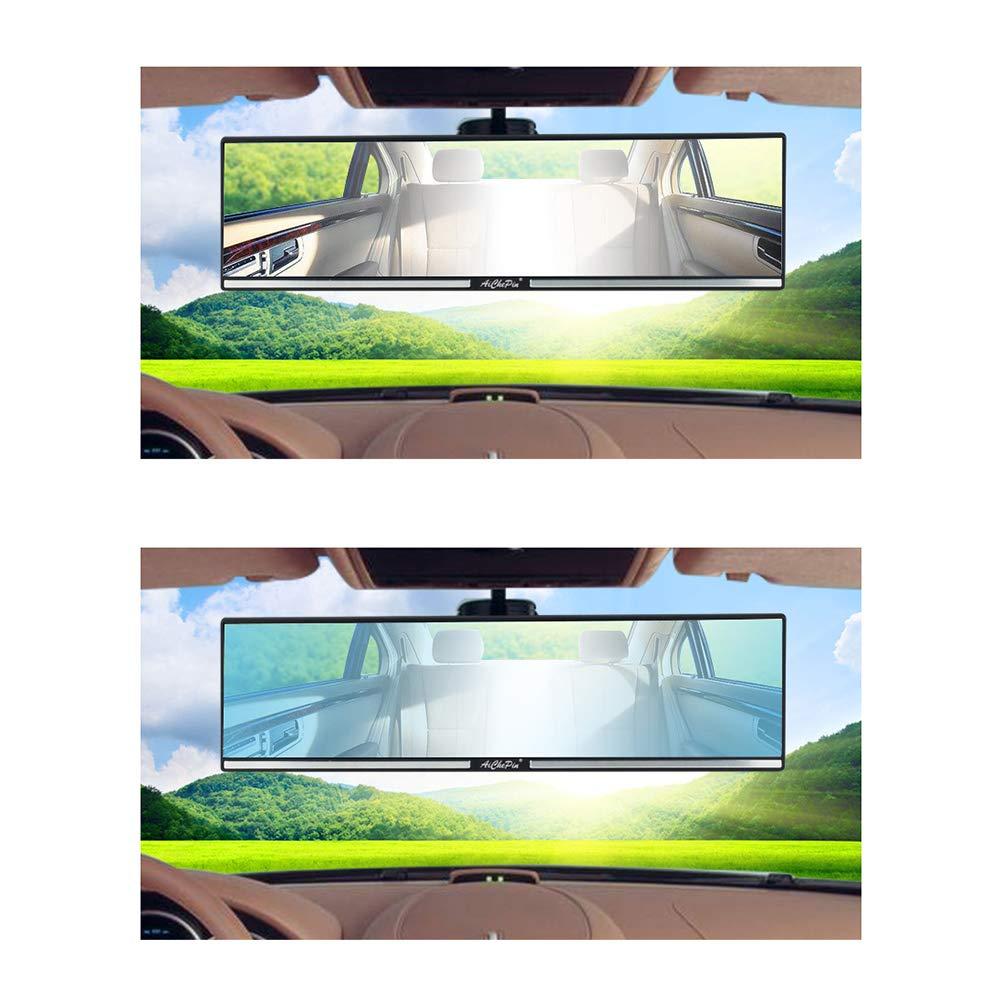 LIOOBO Auto-R/ückspiegel Durable Universal-Weitwinkel-Panorama Anti-Blendung Innenspiegel