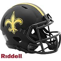 $34 » New Orleans Saints - Eclipse Alternate Speed Riddell Mini Football Helmet - New in Riddell Box