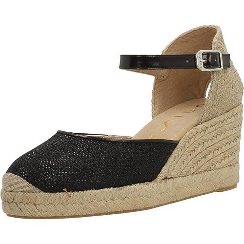 Alpargatas para Mujer, Color Negro, Marca UNISA, Modelo Alpargatas para Mujer UNISA Caceres 18 EV Negro: Amazon.es: Zapatos y complementos