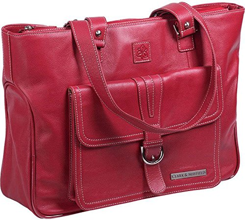 clark-mayfield-stafford-pro-leather-laptop-tote-red