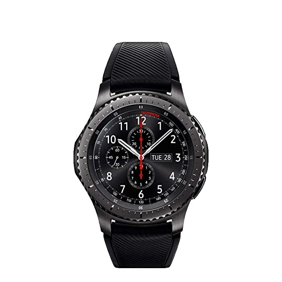 Image Unavailable. Image not available for. Color  Samsung Gear S3 Frontier  SM-R760 Smartwatch ... 149c9572257ba