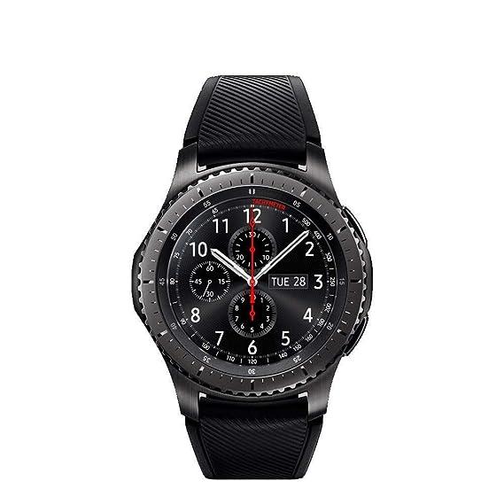 a3036c200d8 Samsung Gear S3 Frontier Smartwatch - UK Version  Amazon.co.uk  Electronics