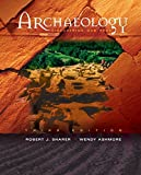 img - for Archaeology: Discovering Our Past book / textbook / text book