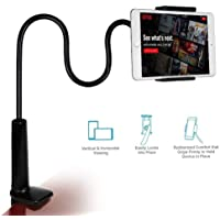 Cellphonez® Gooseneck Flexible Clip Lazy Arm Bracket for Both Mobiles and Tablets/ipad/Kindle