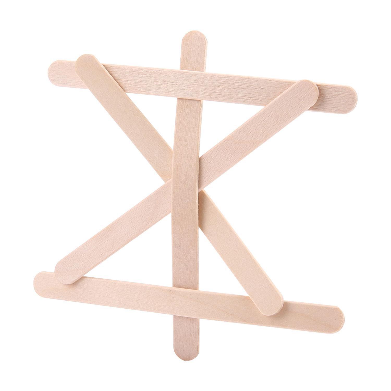 Aolvo - Palillos de palos para manualidades, palitos de ...