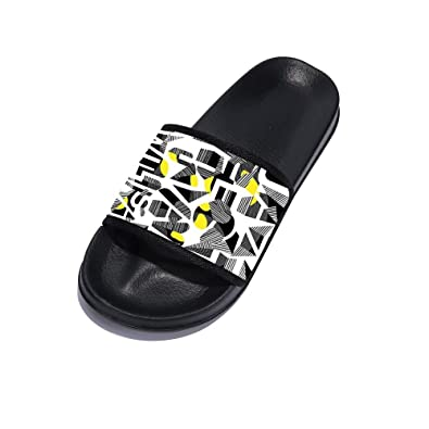 Eric Carl Boys Girls Bathroom Slippers Shower Shoes Gym Slippers Soft Sole Open Toe House Slippers