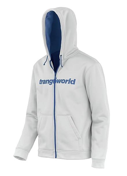 Trangoworld Ripon Chaqueta, Hombre, Blanco/Azul Mar, 2XL