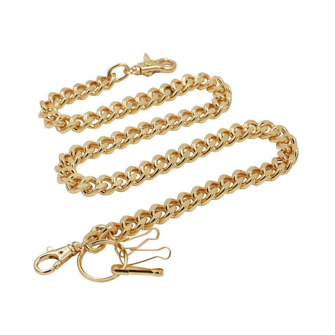 Heavy Thick Curb Cuban Link wallet chain Biker Punk Key chain (31