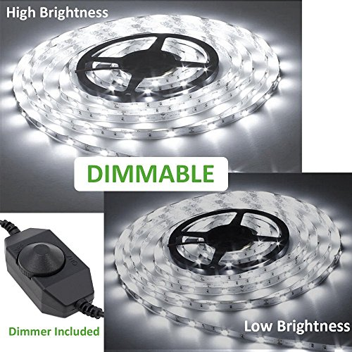 Simply matchless dimmable strip lighting