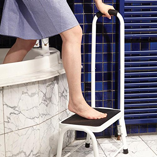 Safety Step Stool Non-Slip Bath Kitchen Support Mobility Aid Portable Handrail & Safety Step Stool Non-Slip Bath Kitchen Support Mobility Aid ... islam-shia.org