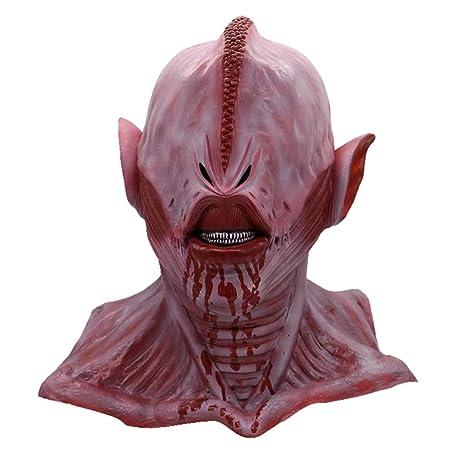 BESTOYARD Maschera Zombie di Lattice Cosplay per Festa di Halloween Casette giocattolo