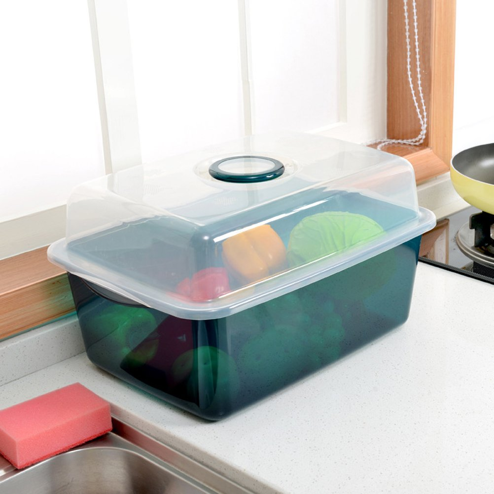 Amazon.com: SUNLIGHTAM Kitchen Tableware Dishes Drying Rack Bowls ...