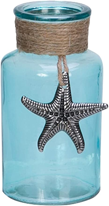Beachcombers Sm Bottle with Pewter Starfish Multi