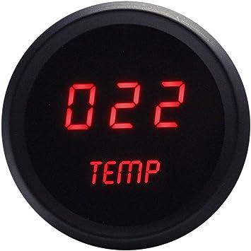 Intellitronx M9113R LED Digital Water Temperature Red//Black