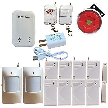 Sistema de Alarma WiFi para el hogar, Sistema de Alarma ...