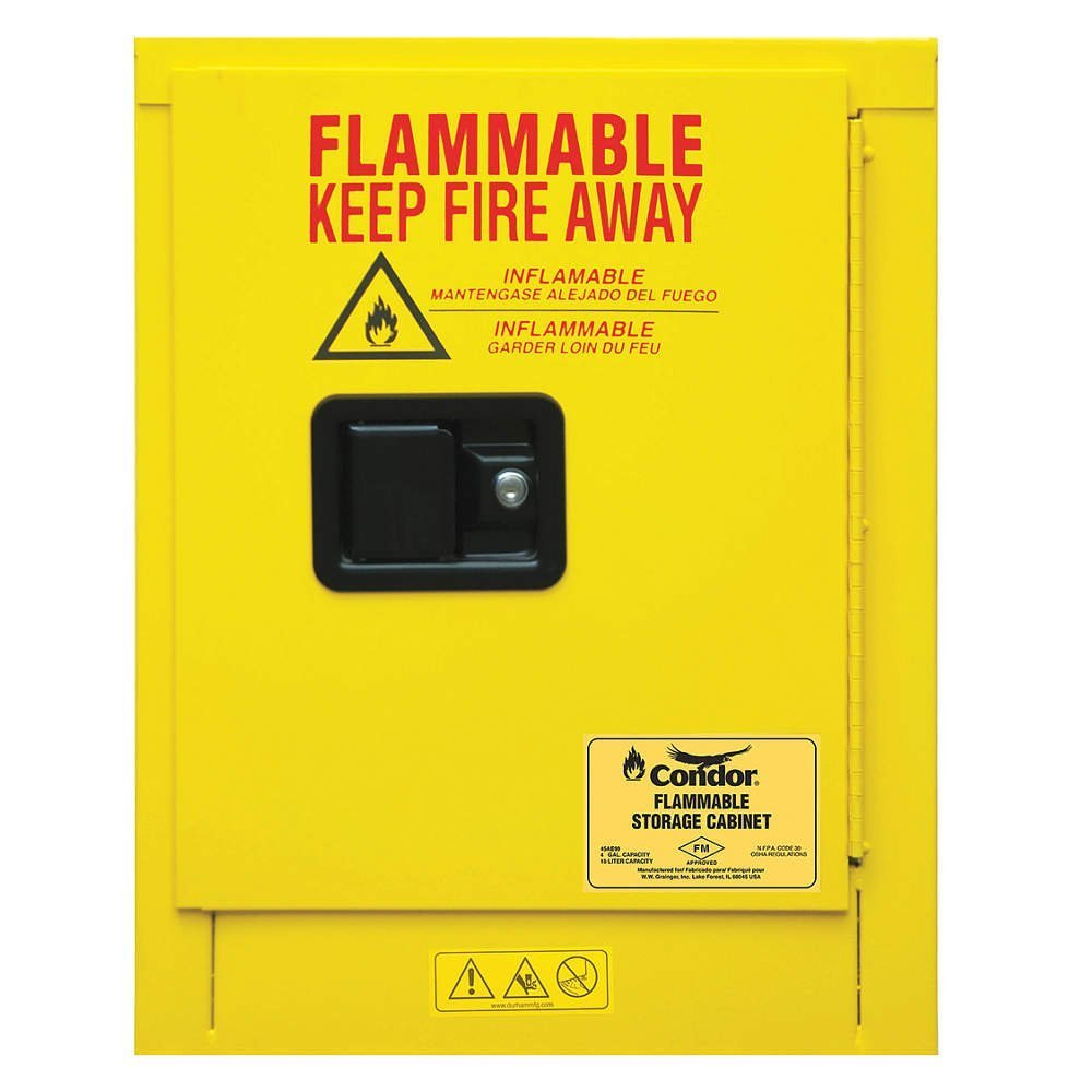 Flammable Liquid Safety Cabinet, 4 gal.