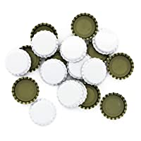 Crown Caps With Oxy-Liner - Case of 10,000 Caps White