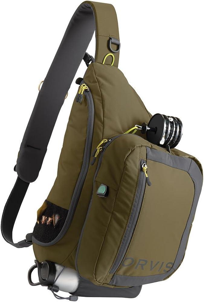 Orvis Safe Passage Guide Sling Pack Olive Grey
