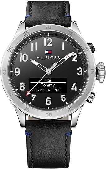 Tommy Hilfiger 1791299 Smart Watch Reloj Reloj de Hombre Piel ...
