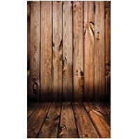 BESTVECH Thin Wood Grain Photo Background Cloth Photographic Backdrops Props 0.9*1.5m