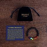 Believe London Chakra Bracelet With Jewelry Bag