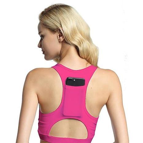Mujer Sujetador Deportivo de Classic Yoga sujetador Mujer sujeción fuerte – Sujetador deportivo para fitness,