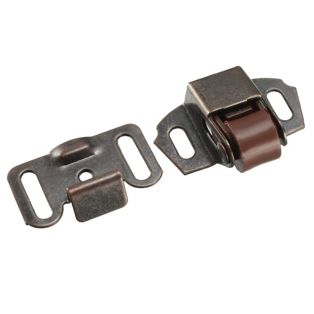 uxcell Wardrobe Door Ball Roller Catch Latch Copper Tone 5pcs US-SA-AJD-147231