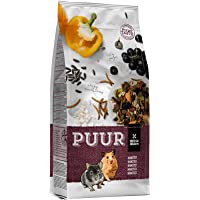Witte Molen Puur Hamster Food 400 g - mealworms/sunflower seeds/pepper/puffed rice/grapes pure & varied gourmet muesli