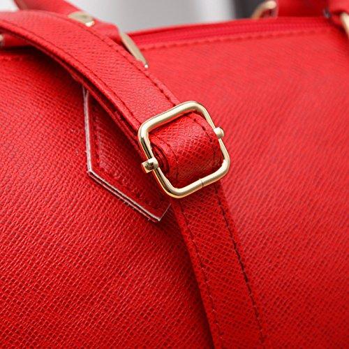 Red Bag Fashion Messenger Purse Tote Women Lady Handbag Shoulder Bag Leather Paymenow Hobo nFwqw7pX