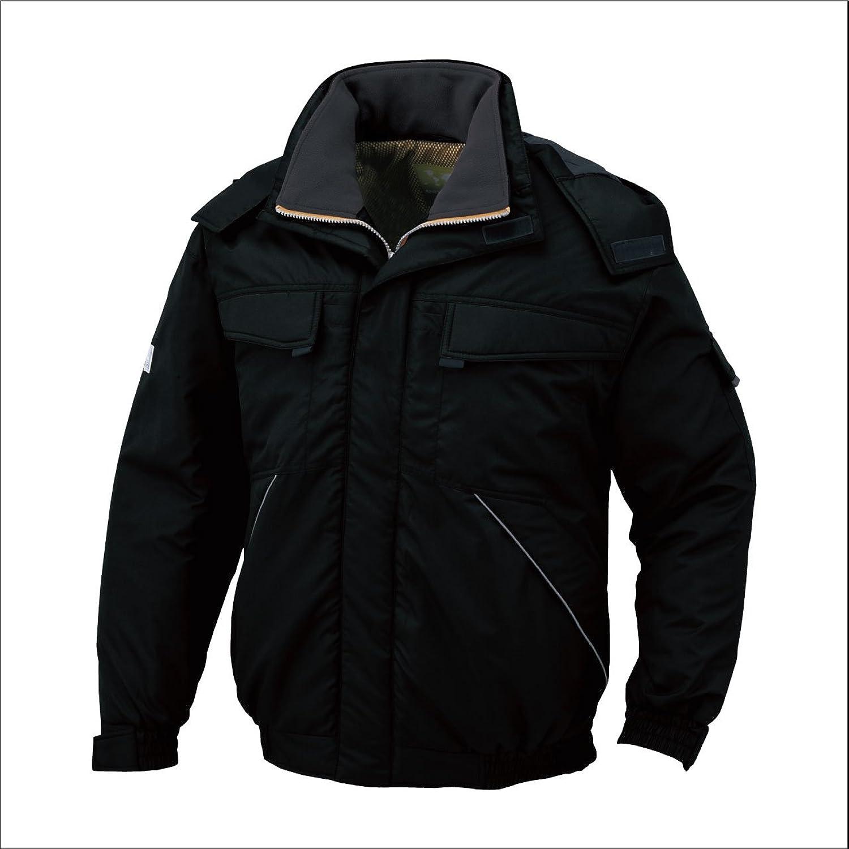 コーコス(CO-COS) 防寒ブルゾン 防寒服 防寒着 撥水加工 防寒ジャンパー cc-a2360 B0194ZO8OK  ブラック 6L
