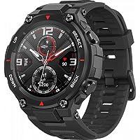"""Smartwatch Amazfit T-Rex Padrão Militar, Bluetooth 5.0, Tela Amoled 360x360 1,3"""", 5ATM, Gps, 14 Modos de Esportes (Preto…"""