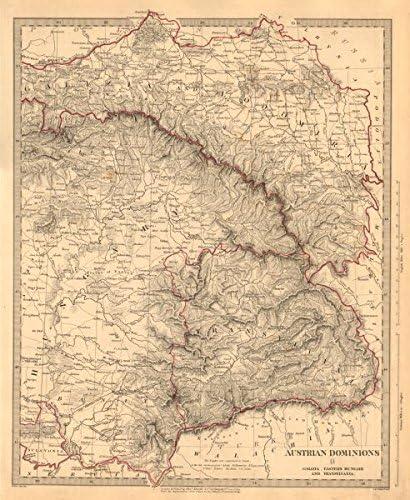 Galizia Cartina.Dominions Austriaco Ungheria Galizia Orientale Transylvania Galicia Sduk 1845 Stile Antico Con Motivo Cartina Geografica Ungheria Austria Amazon It Casa E Cucina