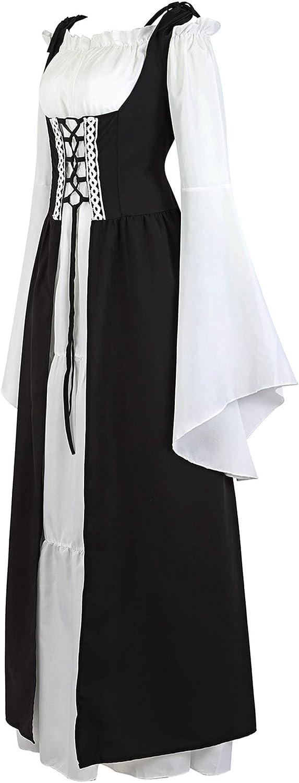 Amazon.com: frawirshau - Vestido largo para mujer, estilo ...