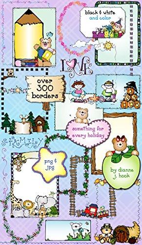 Amazon.com: Borders Clip Art CD