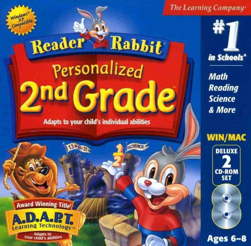 Reader Rabbit 2nd Grade (PC) by Learning Company